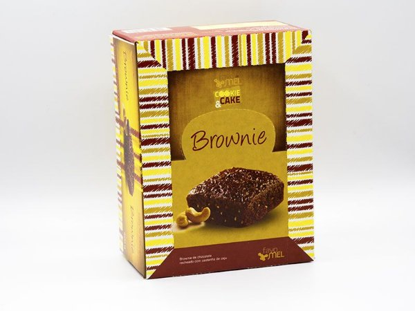 Brownie de Chocolate 35 g - Display com 12 unidades