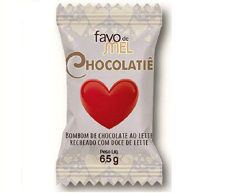 Coração com doce de leite 6,5 g