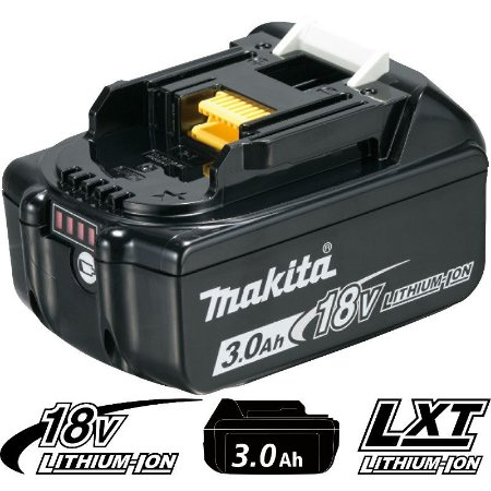 Bateria de Íons de Lítio Makita BL1830B - 18V/3,0AH