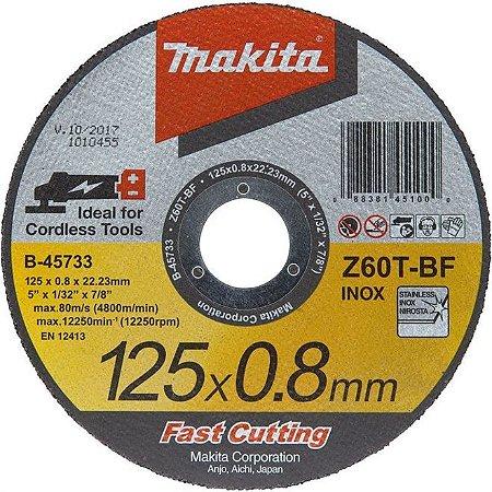 Disco de Corte Makita 125 x 0,8mm