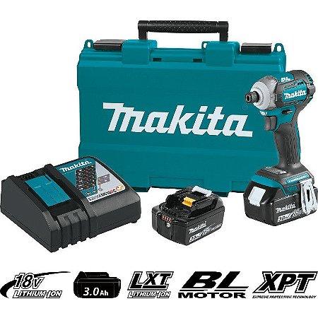 Parafusadeira de Impacto à Bateria Makita DTD170RFE