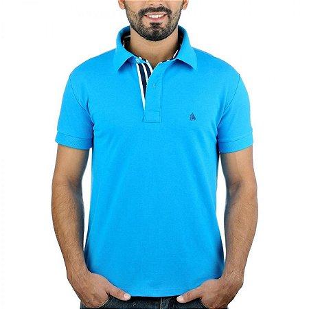 Camisa Polo BF   MS Azul - PMW Bonés 335ad9850b965