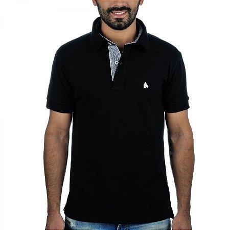 Camisa Polo BF   MS Preta - PMW Bonés 81fb26130b7d5