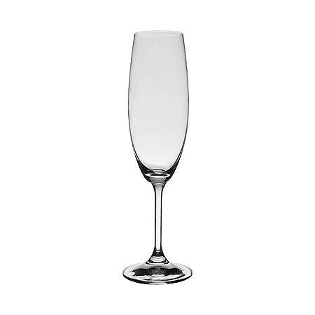 168e8e6cb24 Taças de Cristal para Champagne Linha Roberta - Elleganza Cristais