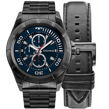 d957d6614a9e2 Relógio Smartwatch Technos Full Connect Preto Masculino - Pollock ...