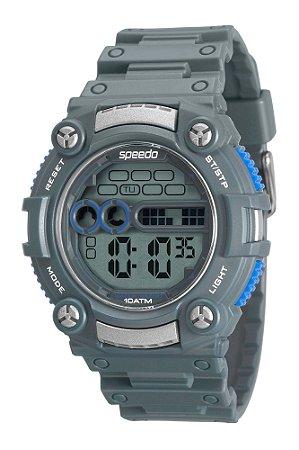 6ce98bd88e753 Relógio Digital Speedo Cinza de Pulso e Resistente a Água - Pollock ...