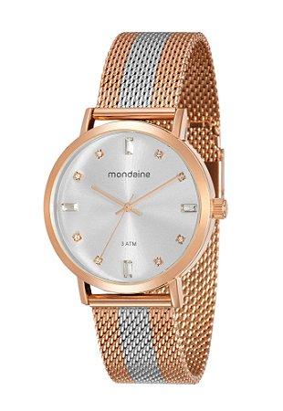 d6b3d3d595b0d Relógio de Pulso Analógico Mondaine Feminino Rosé Gold - Pollock ...