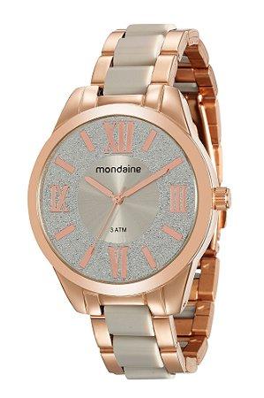 7fea9e2733515 Relógio Mondaine Feminino em Aço na Cor Rosé Gold - Pollock ...