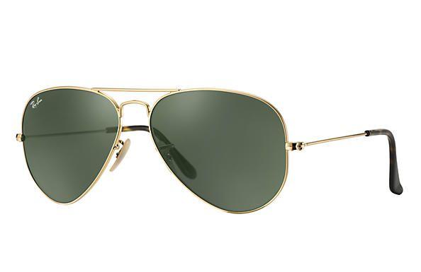 95bc5219c6a98 Óculos de Sol Ray-ban Aviador - Aviator - Havana - Piloto - Large Metal