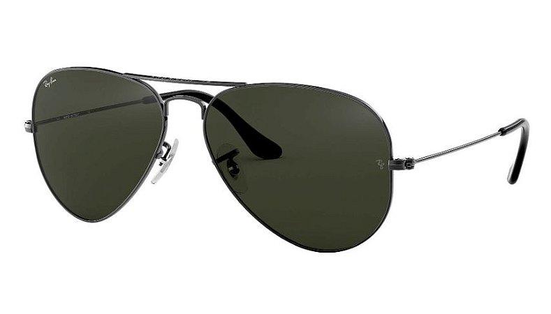 98c62ad623441 Óculos de Sol Ray-ban Aviator - Aviador - Piloto - Large Metal Clássico -