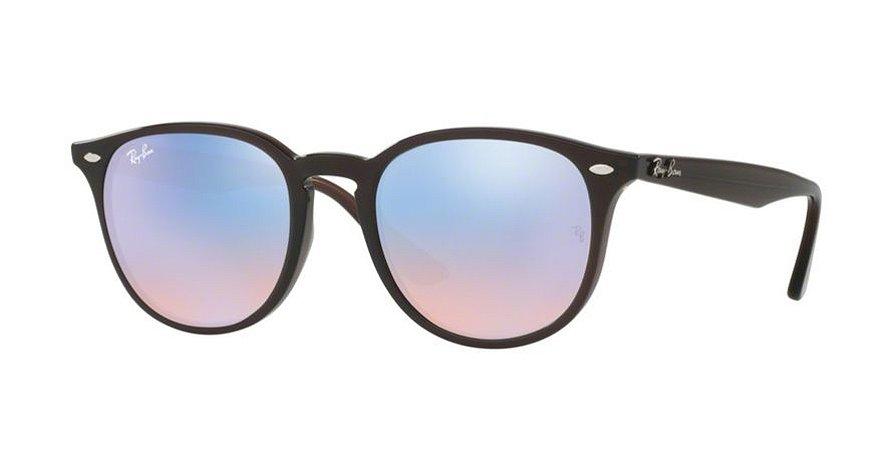 Óculos de Sol Ray-ban Espelhado Azul e Rosa Degradê RB425962311N ... 097ec8e73c