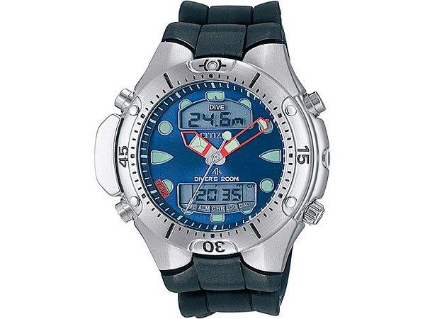 7bfcb2eeef24f Relógio Citizen ProMaster Água - Aqualand JP1060-01L - Pollock ...