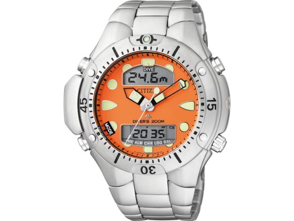 28a47952236 Relógio Citizen ProMaster Água - Aqualand JP1060-52Y - Pollock ...