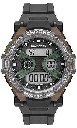 d1fa3d0ee256b Relógio Mormaii Digital Masculino Esportivo em Polímero com Luz  Eletroluminescente - MO8590AB8V