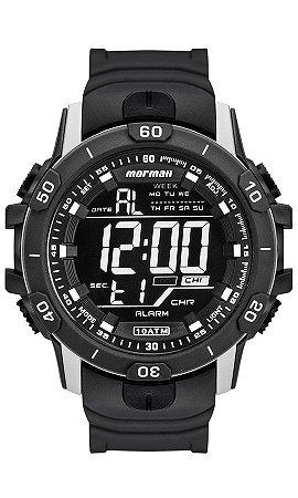 36787d61f3f90 Relógio Mormaii Digital Masculino Esportivo em Polímero com Luz  Eletroluminescente - MO3690AA8C
