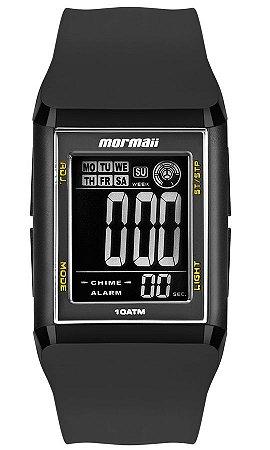 f64a05eecd857 Relógio Mormaii Wave Digital Quadrado Unissex com Lap Time - MO18008Y