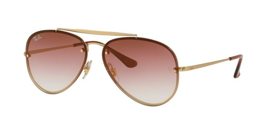 Óculos de Sol Ray-ban Blaze Aviador - Aviator - Piloto - Rosa com Armação e77e45061f