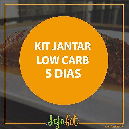 KIT Jantar Low Carb 5 dias