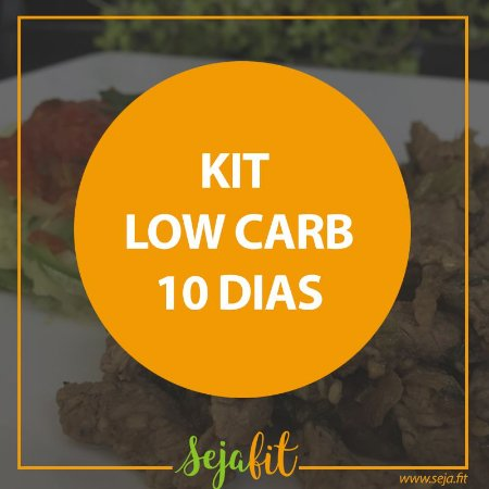 Kit Low Carb 10 dias
