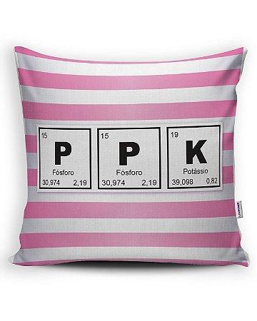 Almofada PPK periódica - Linha vulgar sem ser sexy