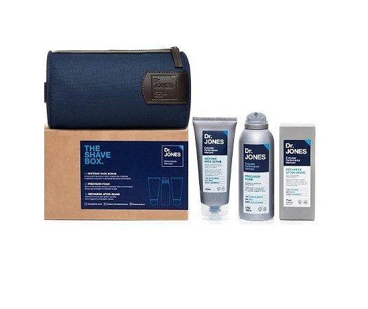 The Shave Box - Kit para Barbear Dr. Jones