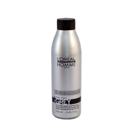 Shampoo Para Cabelos Grisalhos – Grey L'Oréal Homme