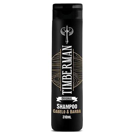 Shampoo para Cabelo e Barba Timberman