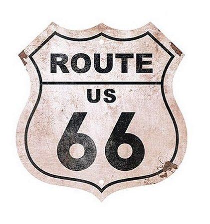 Placa em MDF – Route 66