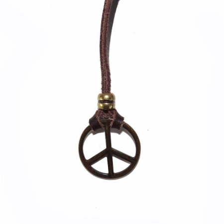 Colar Masculino Paz e Amor / Hippie