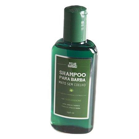 Shampoo para Barba Mato sem Coelho Pelas Barbas