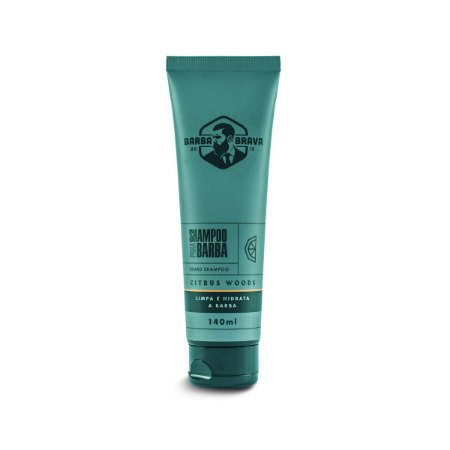 Shampoo Para Barba Citrus Woods  Barba Brava