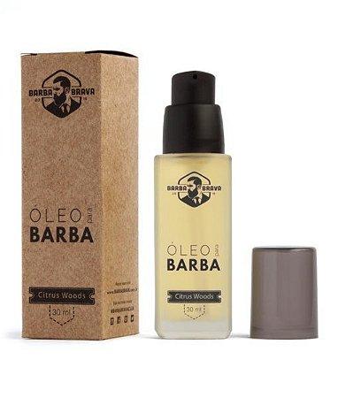 Óleo Para Barba Citrus Woods - Barba Brava