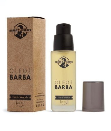 Óleo Para Barba Fresh Woods - Barba Brava