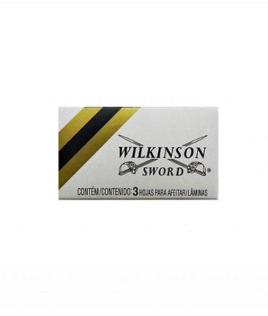 Lâmina De Barbear Wilkinson - Caixa c/3