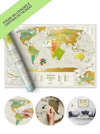 Mapa Mundi de Raspadinha Geography