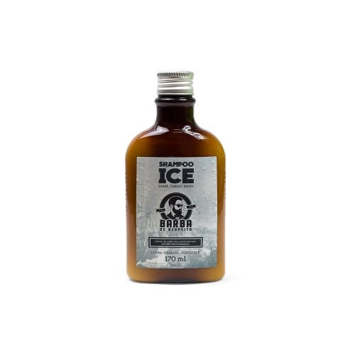 Shampoo lce Barba e Cabelo (Refrescante) - 170 ml