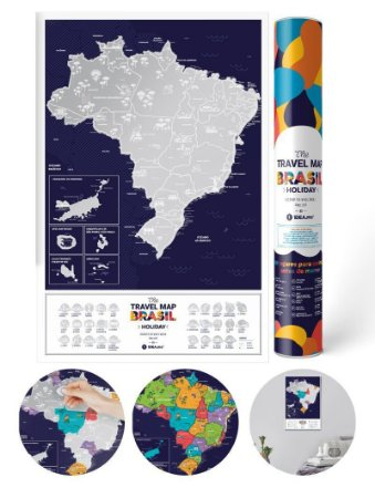 Mapa de Rapadinha Brasil Holiday