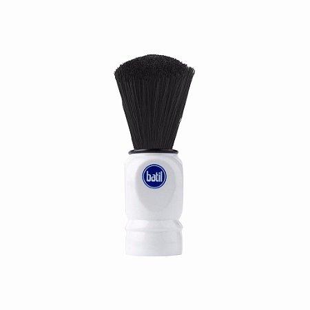 Pincel Barbear Cerdas Sintéticas - Branco