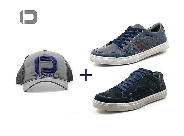 2635891a04 Kit 2 pares Sapatenis Masculino Casual Orlandelli 04101 - Sapatos de ...