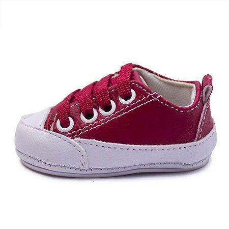 Tênis Bebê Feminino Cla Cle Star Vermelho