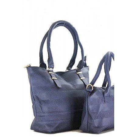 Kit com 2 Bolsas - Azul