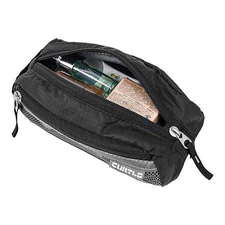 c06a42360 Bolsa Necessaire 1,2L Curtlo Light Kit Pequena Preta - Viagem ...