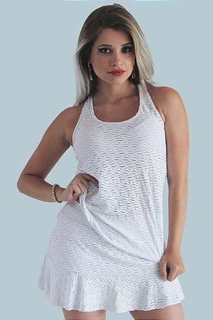 de2c3d5101 Conjunto Camiseta Regata e Short Saia Devorê com Bolso - It s MODA