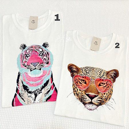 Tshirts Tigre e Onça