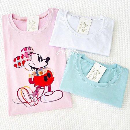 Tshirt Mickey Suede