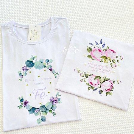 Tshirt Fé Floral