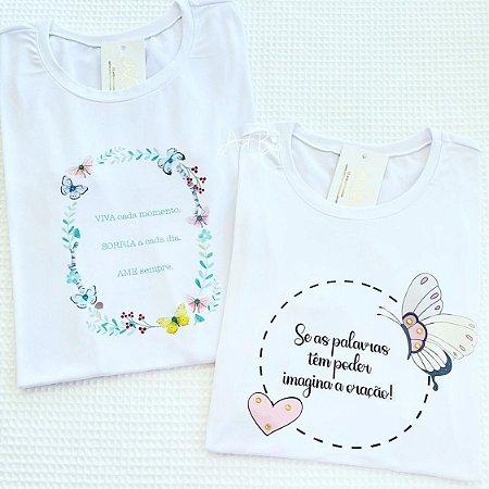 Tshirt Frases Moldura