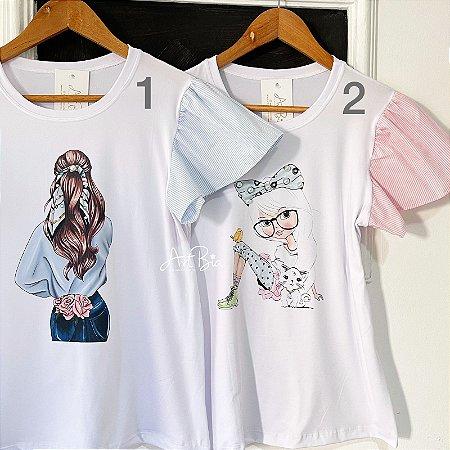 Tshirt Girls Listras
