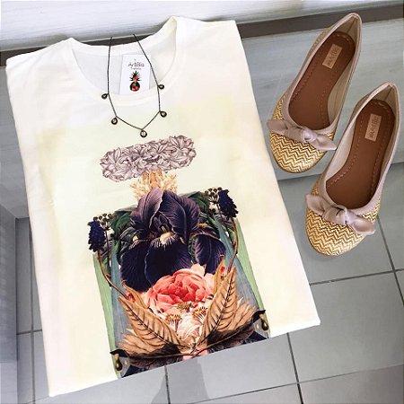 tshirt perfume floral