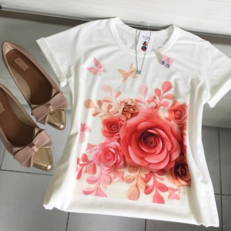 Tshirt rosas